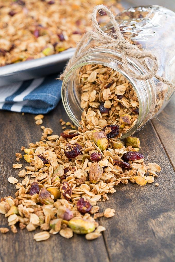 pistachio granola-7
