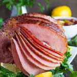 Glazed Ham with Cherry Sauce | Garnish & Glaze