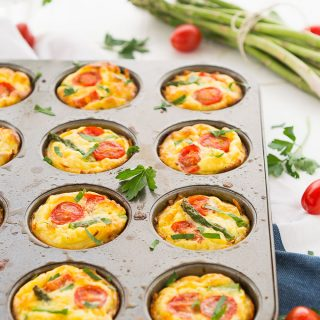Mini Hash Brown Quiches