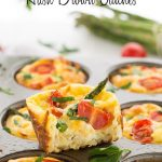 Mini Hash Brown Quiches | Garnish & Glaze