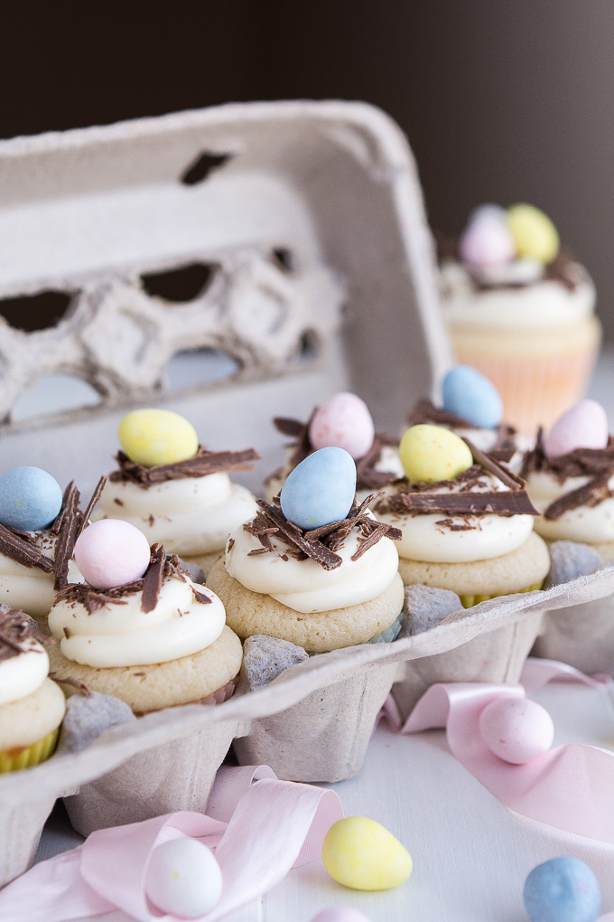 White chocolate easter egg cupcakes negle Images