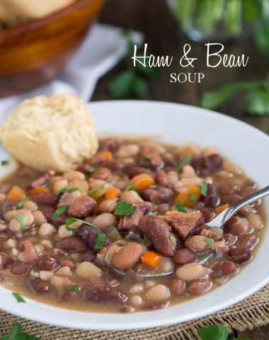 Ham & Bean Soup | Garnish & Glaze