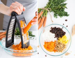 Warm Caramel Carrot Cake   Garnish & Glaze