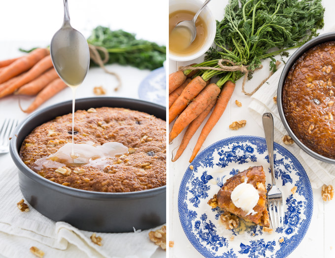 Warm Caramel Carrot Cake | Garnish & Glaze