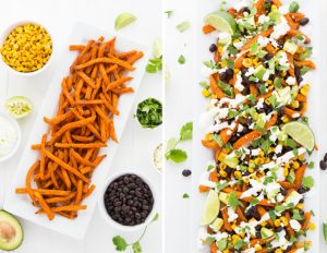 Loaded Chipotle Sweet Potato Fries | Garnish & Glaze