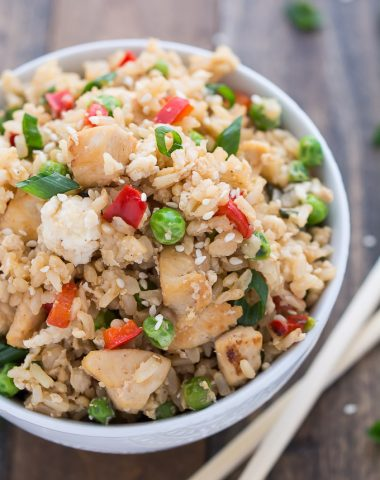 Chicken Fried Rice | Garnish & Glaze