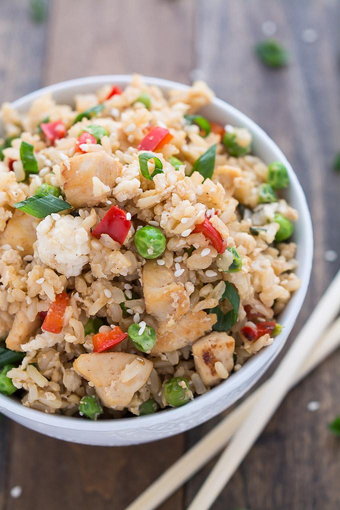 Chicken Fried Rice | Garnish & Glaze