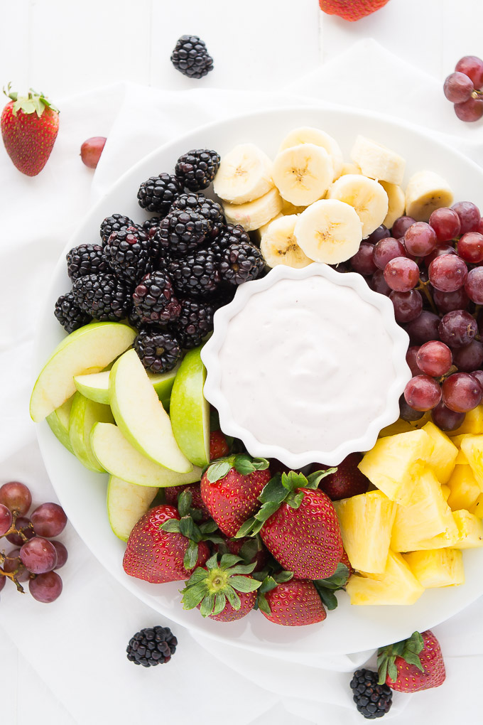 healthy fruit dip with yogurt lowest calorie fruit