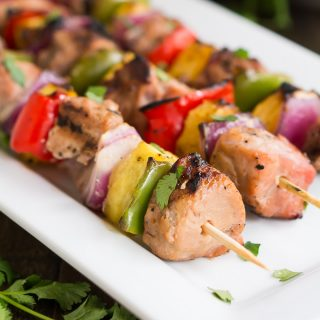 Easy Teriyaki Pork Kabobs