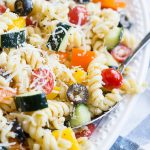 Quick and easy Summer Vegetable Pasta Salad