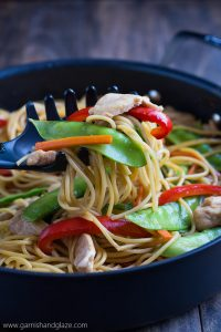 Take 20 minutes to toss this Chicken Lo Mein together to enjoy with your family.