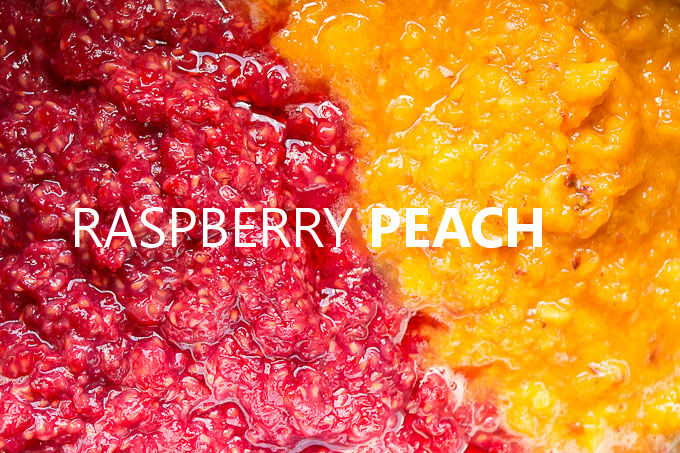 Bottle up the summer with this easy Raspberry Peach Freezer Jam!