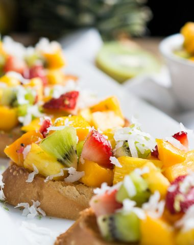 Tropical Bruschetta