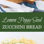 Enjoy your zucchini in this sweet and light Lemon Poppy Seed Zucchini Bread.