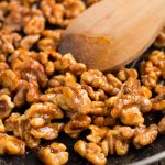 Honey Glazed Walnuts