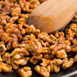 Honey Glazed Walnuts
