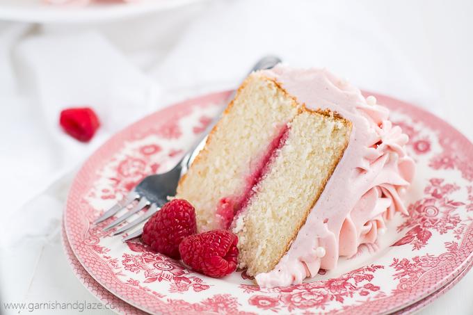 Rose Jelly Cake Recipe: Garnish & Glaze