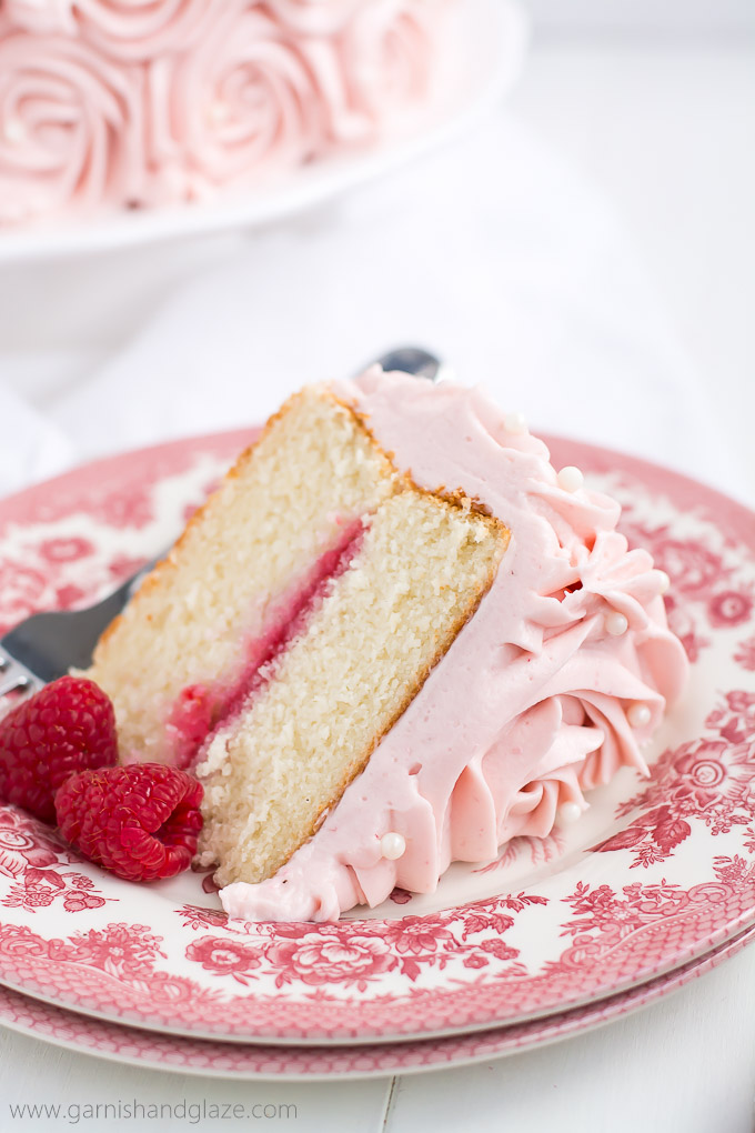 white chocolate and raspberry wedding cake recipe raspberry cake garnish amp glaze 27243