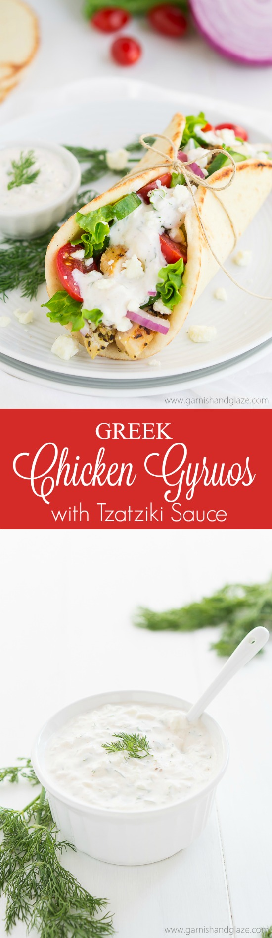 how to make tzatziki sauce for gyros