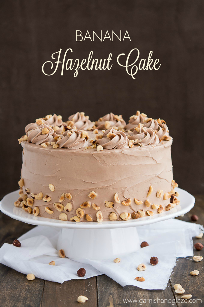 Chocolate Cake With Nutella Frosting Recipe