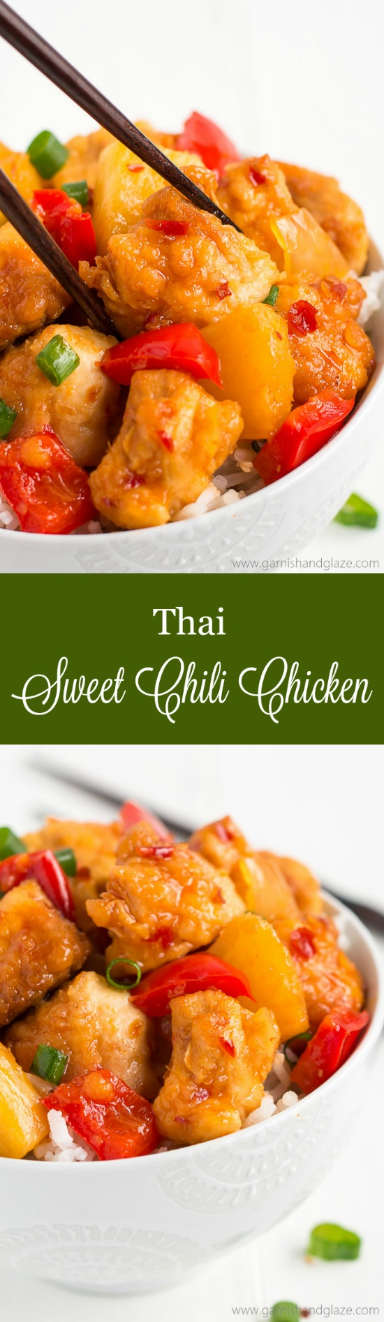 No need to order take-out with this sweet and spicy SLOW COOKER THAI SWEET CHILI CHICKEN! It's got the same great texture without all the grease!