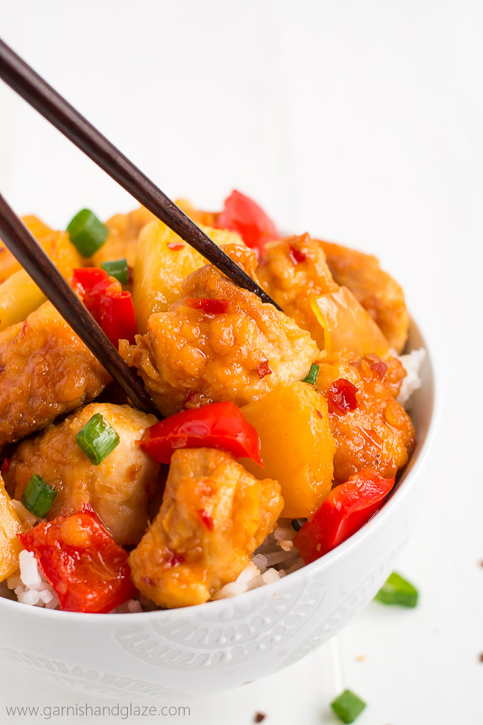 Slow Cooker Thai Sweet Chili Chicken