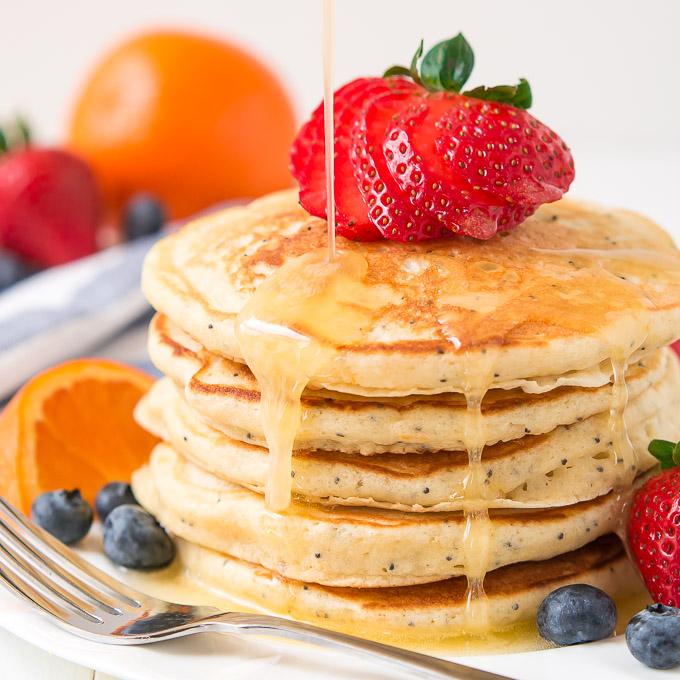 Poppy Seed Pancakes Recipe — Dishmaps
