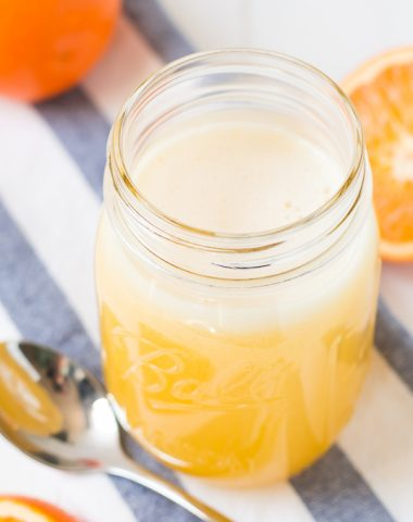 This sweet, creamy, refreshing Orange Syrup is liquid gold! And it only takes 5 minutes to make. Pour it over pancakes, waffles, french toast, cake...