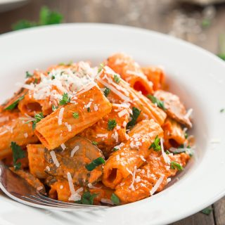 Copycat Roasted Red Pepper Pasta Brio