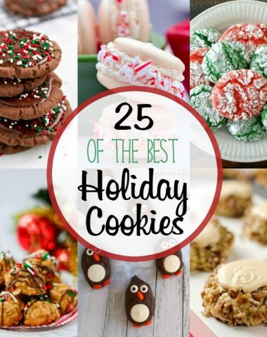 Spread the holiday cheer with 25 of the BEST Holiday Cookies! Plus, enter the giveaway for a chance to win $400 Black Friday Cash!!!