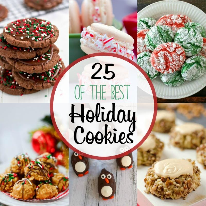 30 Plus Festive Christmas Cookie Recipes: 25 Of The Best Holiday Cookies + $400 Cash Giveaway