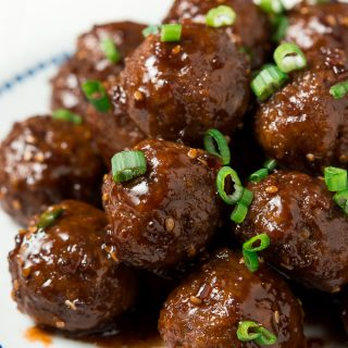 30-Minute Teriyaki Meatballs