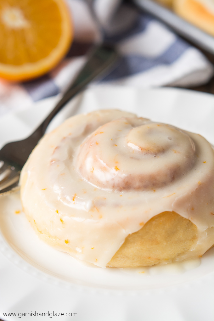 Make Christmas morning even better by serving these light and fluffy Orange Cinnamon Rolls!