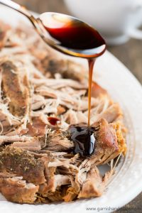 Impress your guests at your next dinner party with this flavorful Balsamic Glazed Slow Cooker Pork Loin that requires almost no effort.