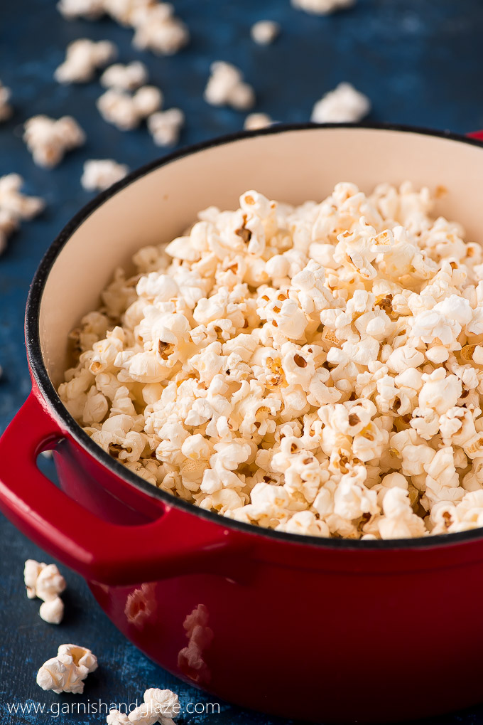 Make Stovetop Popcorn and save yourself some money while enjoying this yummy and healthy snack that requires no special equipment.