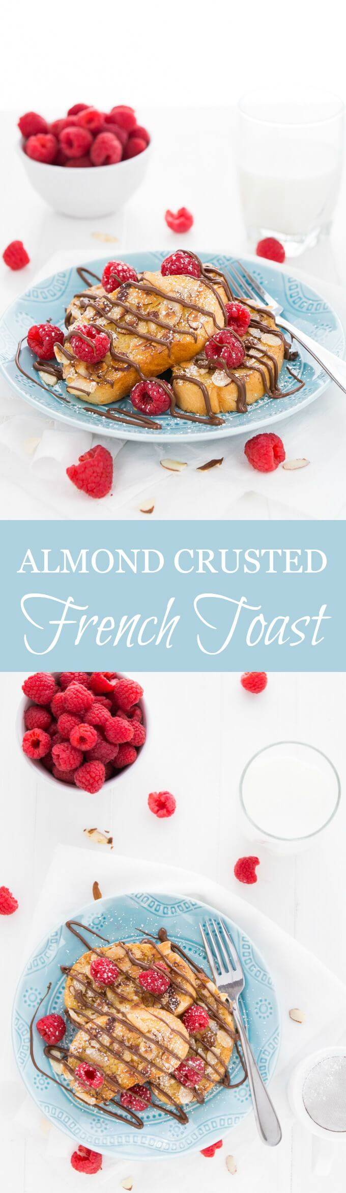 Almond Crusted French Toast is the perfect way to begin your day with the ones you love.