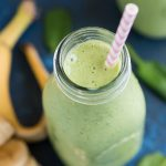 Start your day off with a delicious, refreshing, and healthy PINEAPPLE SPINACH GREEN SMOOTHIE! Spinach never tasted so good!