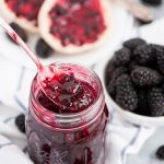 Bottle up those gorgeous dark summer berries in this simple, 5-ingredient Blackberry Freezer Jam and spread it over everything from toast to cake!