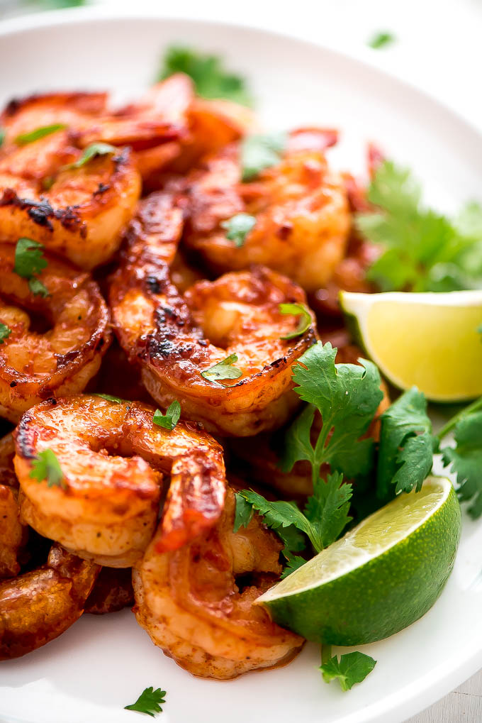 Honey Cilantro Lime Shrimp