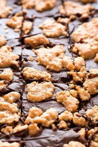 Oatmeal Chocolate Fudge Chewies are an amazingly delicious chocolate cookie bar that is easy to make and perfect for feeding a crowd!