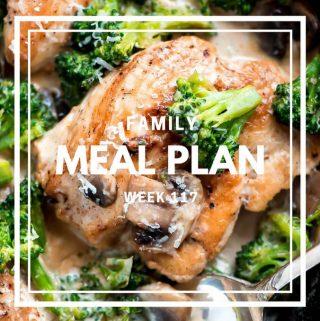 Meal Plan- Week 117