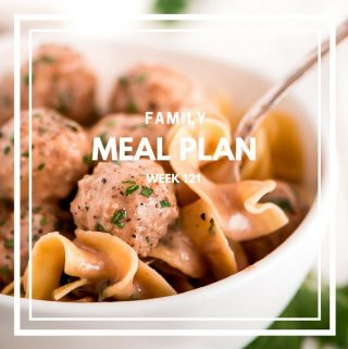 Family Meal Plan Week 121