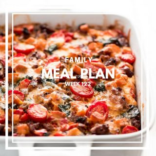 Family Meal Plan Week 122