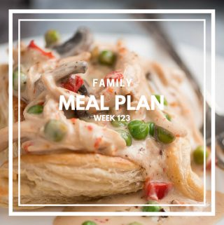 Family Meal Plan week 123