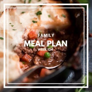 Family Meal Plan 124