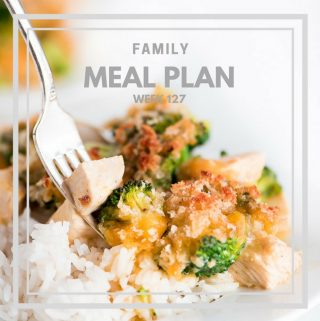 Family Meal Plan 127