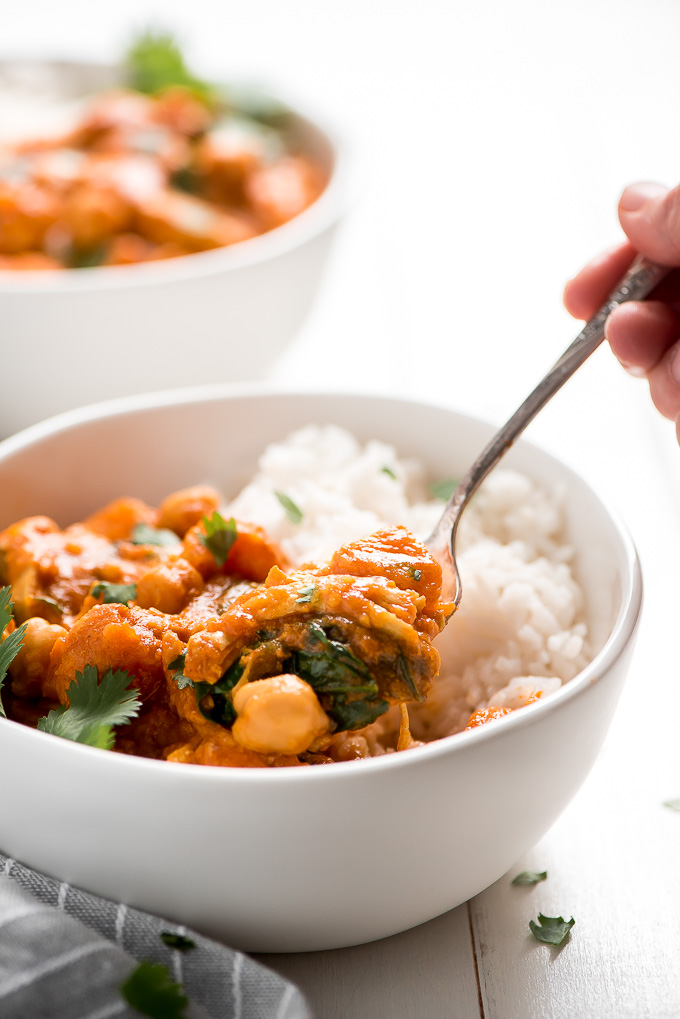 Easy Chicken Curry 7 Garnish Glaze