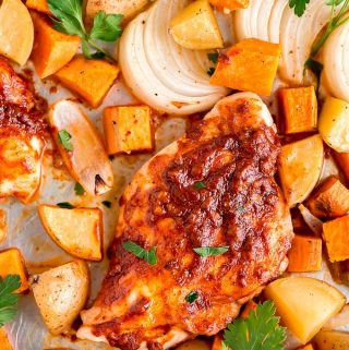 Sheet Pan Paprika Chicken