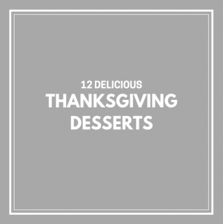 15 Delicious Thanksgiving Desserts
