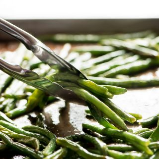 3-Ingredient Roasted Green Beans